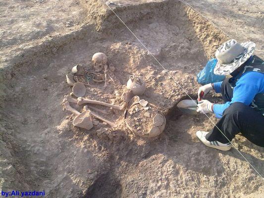 عکس ها و معرفی محوطه باستان شناسی چلو شهر سنخواست در خراسان شمالی