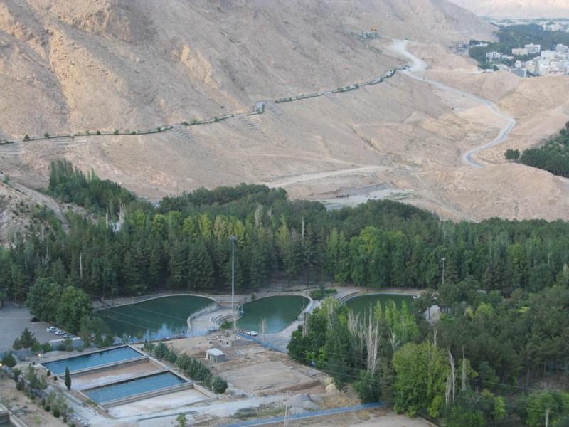 آبشار 3 پارک آبشار شاهرود
