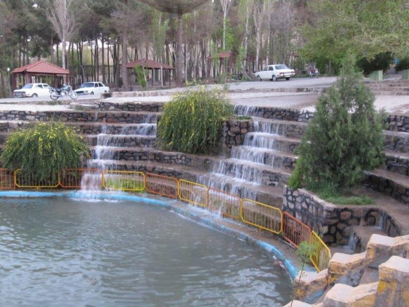 آبشار 4 پارک آبشار شاهرود