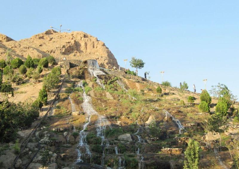 آبشار پارک آبشار شاهرود
