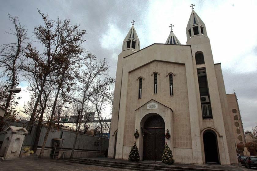 کلیسای سرکیس مقدس تهران جاهای دیدنی تهران (100 جاذبه گردشگری تهران)