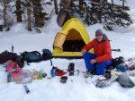 نکاتی در مورد کمپینگ در برف