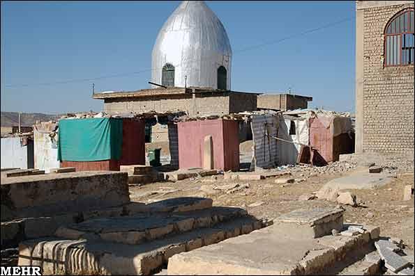 ابوالوفا 1 مقبره  ( گنبد ) ابوالوفا