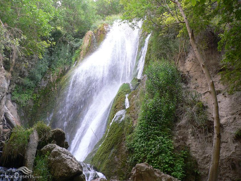 Image result for آبشار های قلعه تل
