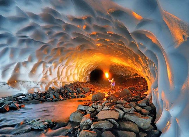 تونل 3 تونل برفی