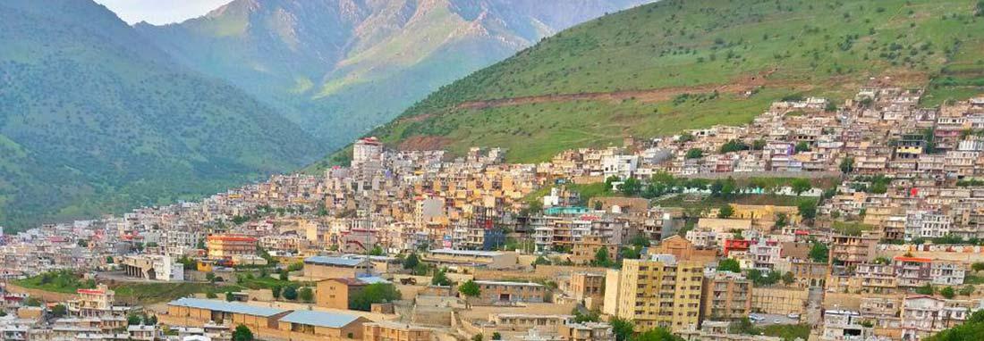 شهر پاوه (بزرگترین شهر پلکانی ایران)