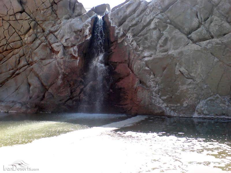 نمک 1 آبشار نمک