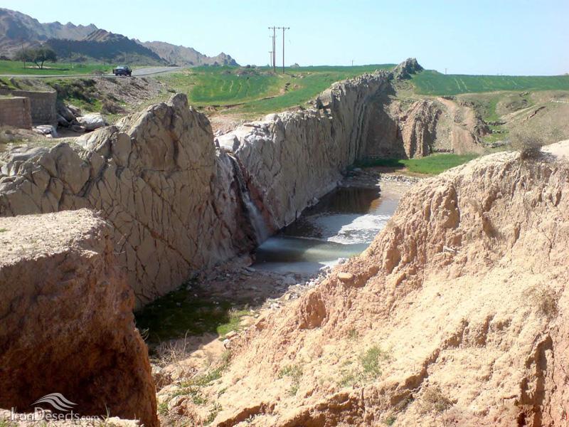 نمک آبشار نمک
