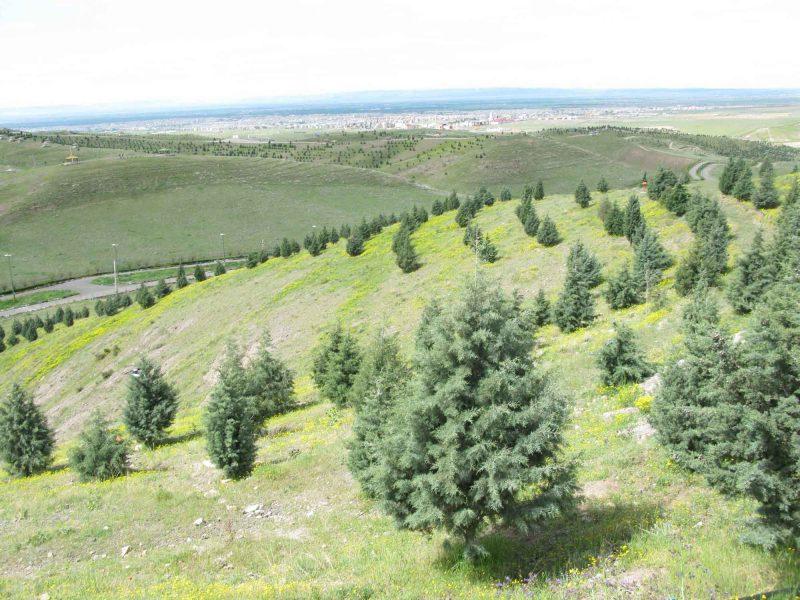 ba ظرفیت گردشگری بوستان باراجین قزوین