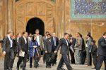 اشتون ، اصفهان را ترک کرد