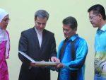 آیین شب فرهنگی ایران و سلانگور در مالزی برگزار شد
