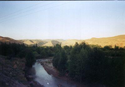 Dare Sarab ghoochan  آبشار و دره سراب