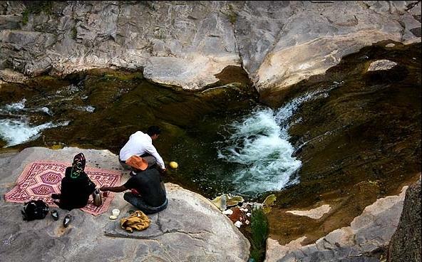 آبشار گله خانه ( کله خانه )