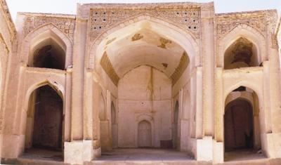 masjedjame sangan khaf مسجد جامع سنگان