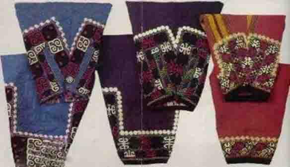 پوشاک زنان ترکمن