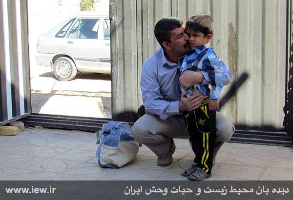 930117_borhaani-5 با رضایت خانواده مقتول، محیط بان محکوم به اعدام از چوبه دار رهایی یافت