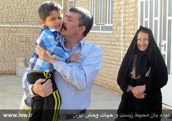 930117_borhaani-6 با رضایت خانواده مقتول، محیط بان محکوم به اعدام از چوبه دار رهایی یافت