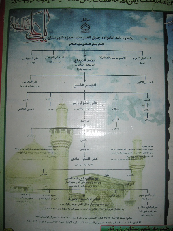 www.BotiaPatogh.ir امامزاده حمزه زرندوئیه