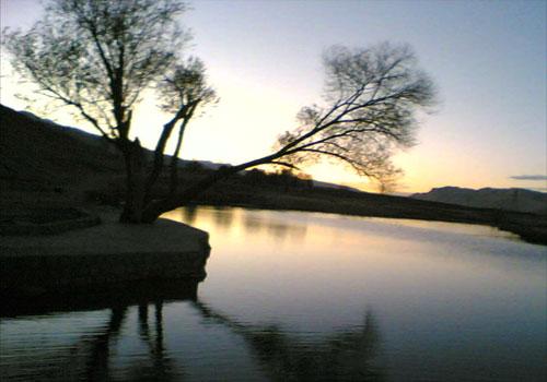 دریاچه شلمزار  20 جای دیدنی چهار محال و بختیاری در تابستان