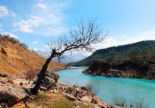 رودخانه-بازفت حاشیه رودخانه بازفت