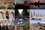 طراحی تصاویر میراث فرهنگی جهانی ایران بر روی لباس
