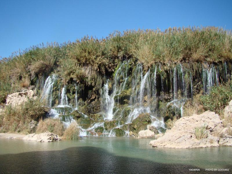 آبشار فدامی - رستگاری در این تابستان مقصد جدید انتخاب کنید