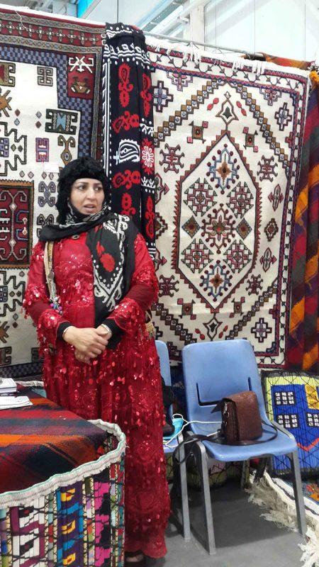 2 گزارش تصویری از نمایشگاه بین المللی صنایع دستی