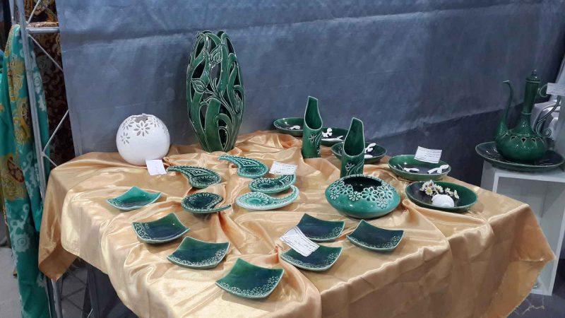 3 گزارش تصویری از نمایشگاه بین المللی صنایع دستی