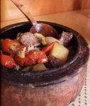 خوراک گُوچ با گوشت بره