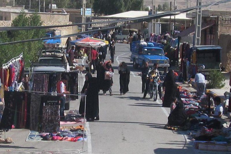 بازار بوشکان بازارچه هفتگی بوشکان