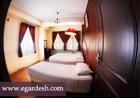 آپارتمان سه تخته هتل شمس شیراز
