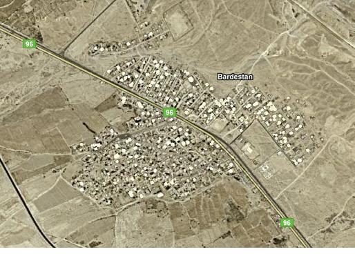 2222 شهر بردستان