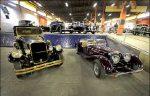 خودروهای تاریخی ایران در سعد آباد