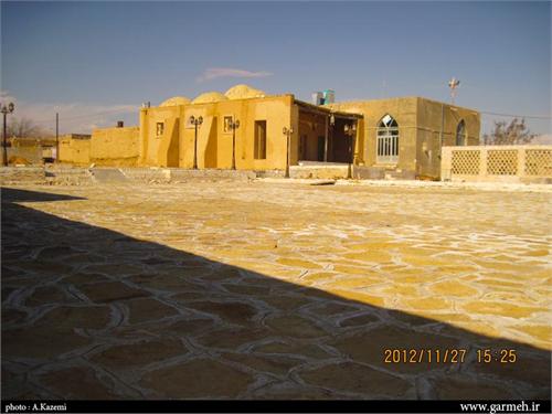 عکس ها و معرفی مسجد جامع درق در خراسان شمالی