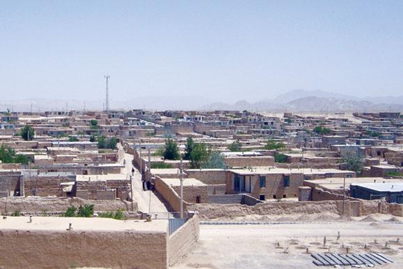 معرفی شهر درق خراسان شمالی