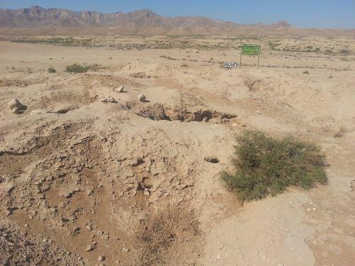 عکس های تپه تاریخی چارجو درق در خراسان شمالی