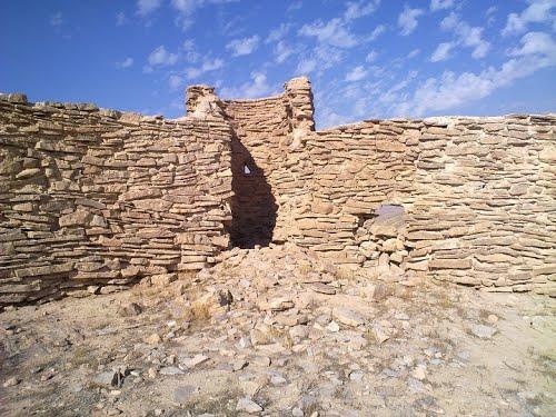 عکس و معرفی قلعه خداوردی درق در خراسان شمالی