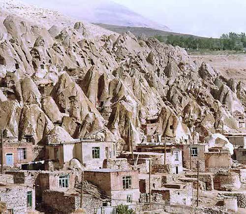 روستای-کندوان7 معماری صخره ای