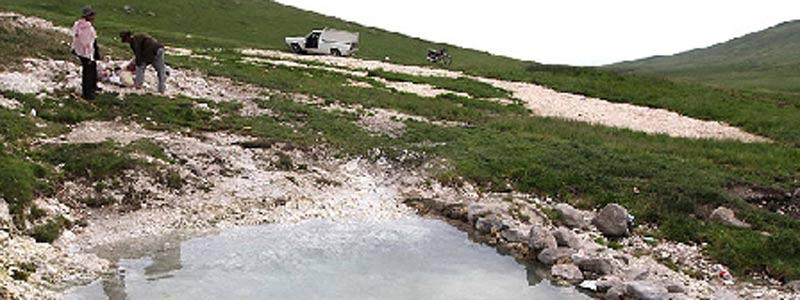 چشمه آب معدنی علی زاخونی | سیری در ایران