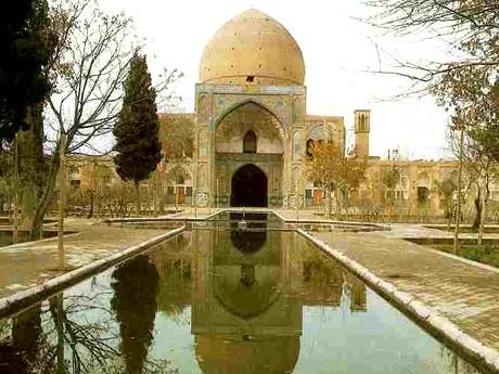 فیض مقبره ملا محسن فیض کاشانی