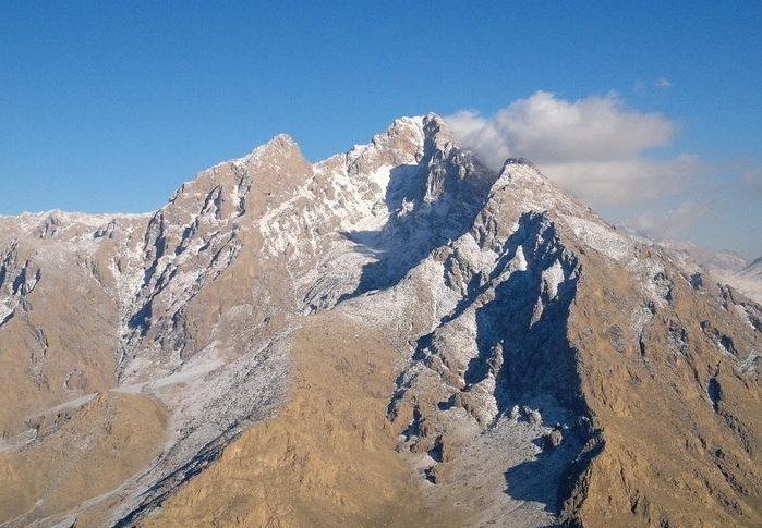 پراو کوههای بیستون و پرآو