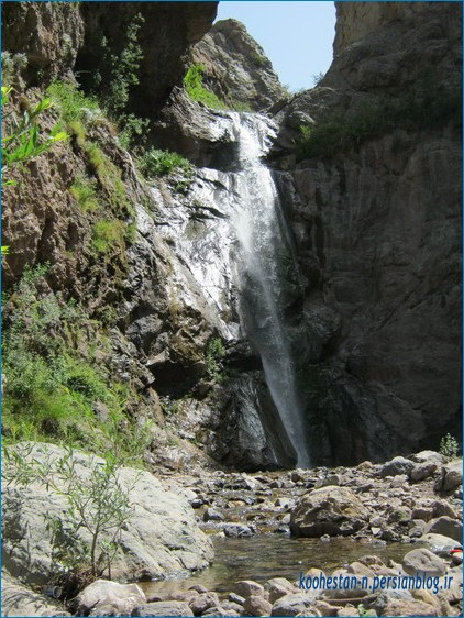کفتر لو آبشار کفتر لو