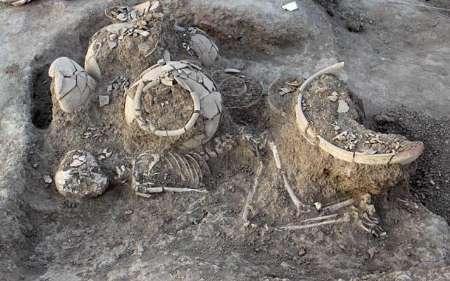 81356342-6025564 آداب ویژه تدفین عصر مفرغ در خراسان شمالی شناسایی شد