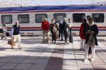 ورود قطار اختصاصی گردشگران اروپایی به مشهد