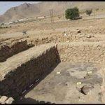 کشف سکه های مسی دوران اسلامی در محوطه باستانی رباط