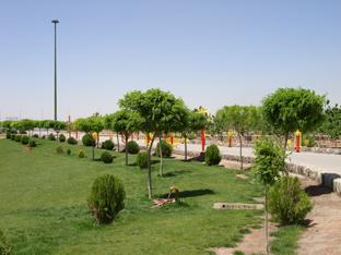 6 پارک کوهستان یزد
