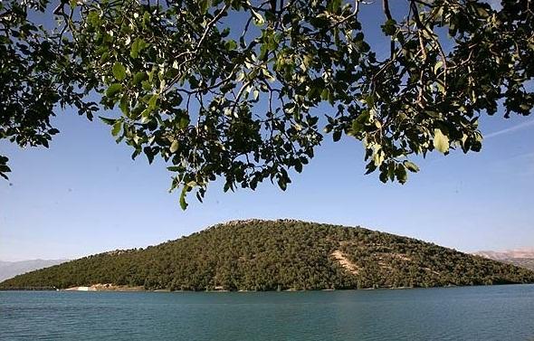 دریاچه سد شاه قاسم