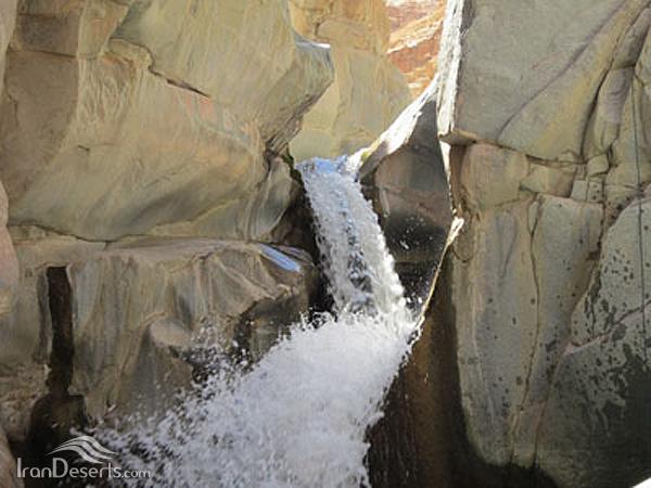 آبشارهای دره سختی (فوسک)