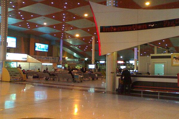 فرودگاه شهید مدنی در شهر تبریز فرودگاه بین المللی تبریز