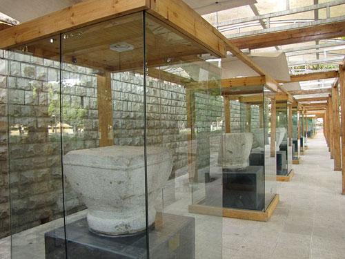 موزه سنگ طاق بستان موزه سنگ کرمانشاه